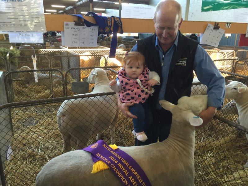 Reserve ewe 2016 & Chloe