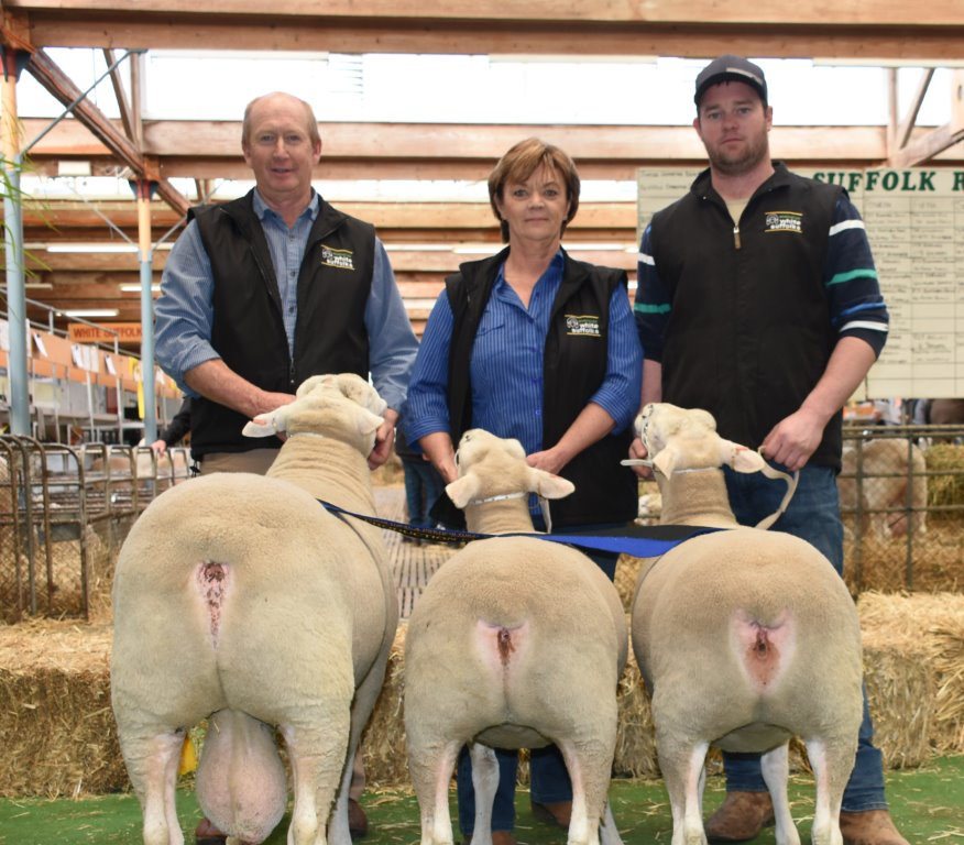 Lamb Production Maternal Winners RAHS 2019